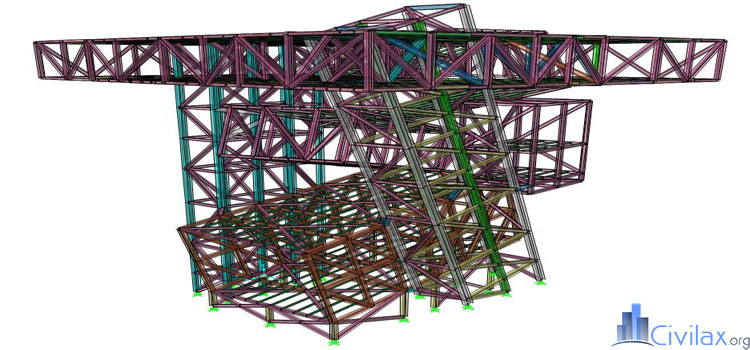 steel-frame-structure-using-sap2000