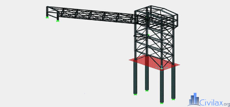 steel-structure-using-sap2000