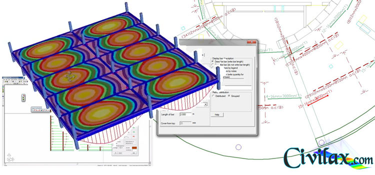 Post Tensioned Concrete Slab Design Example: Post tension