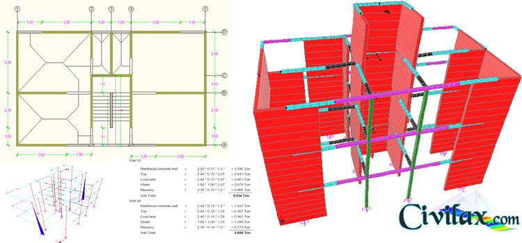 Structural analysis and design of masonry building Building structural design software free download