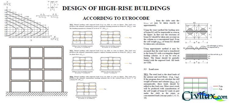 Design Of High Rise Buildings According To Eurocode