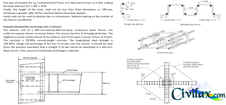 Reinforced Concrete Design Examples - Civil Engineering Downloads