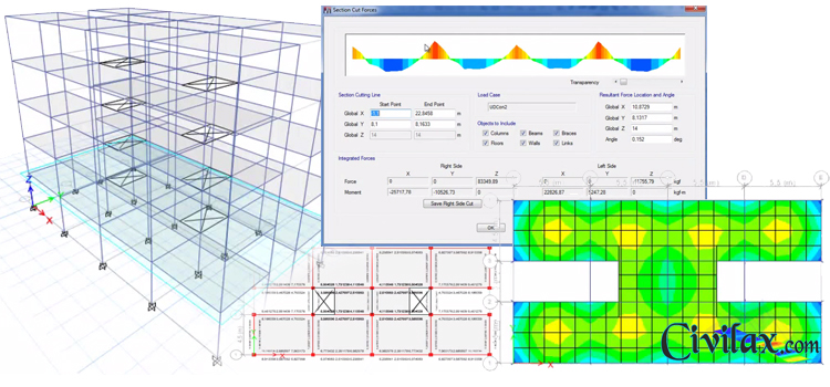 Modeling Analysis And Design Of Reinforced Concrete Building In Etabs 2013 Civil Engineering Downloads