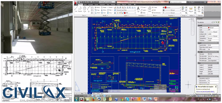 introduction to autocad and structural draughting for civil rh civilax org  African Academy of Draughting