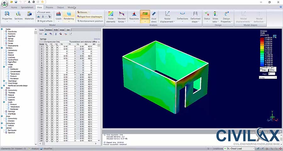 Masonry Structure Analysis And Design In Bentley Systems Ram As Per