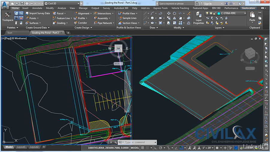 Autocad Civil 3d Site Design Civil Engineering Downloads